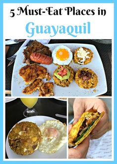 Must Eat Places in #Guayaquil Ecuador: If you're going to the Galapagos, chances are you may stop in Guayaquil. Lucky for you, Guayaquil is my mom's hometown and aside from having spent much of my childhood there, I go back frequently. I wanted to share so yummy restaurants in Guayaquil that will surely delight every foodie. #glutenfree #Ecuador