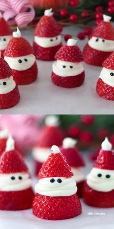 Christmas Deserts, Holiday Snacks, Christmas Party Food, Christmas Brunch, Xmas Food, Christmas Breakfast, Christmas Appetizers, Christmas Cupcakes, Christmas Cooking