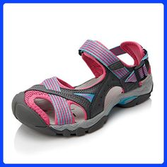 Women's Sport Sandals multicolored 80% PU/ 20% Mesh Athletic Sandals Qianling Collection US7