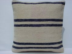 Home Decor Turkish Kilim Pillow Cover  by sofART