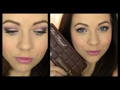 Candied Violet. Too Faced Chocolate Bar Tutorial! - YouTube