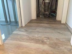Aged oak effect marmoleum floor Hardwood Floors, Flooring, Grey Oak, Wood Floor Tiles, Wood Flooring, Floor
