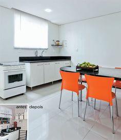 Minha Casa Renovada: cozinha de cara nova e bem mais espaçosa - Casa