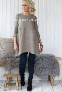 TIMELESS Linen Tunic 2, Natural