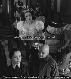 Comedy Movies. The Addams Family...ok, not the TV show but a great line