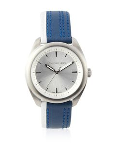 Calvin Klein Jeans Men's K5811126 Blue/White Impulse Watch at MYHABIT