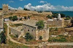 ⌘Руины Генуэзской крепости