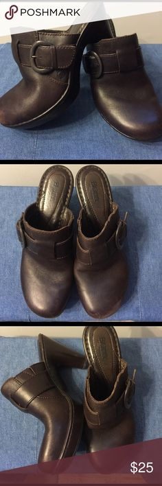 Born Clogs Size 8 $25 Born Brown Leather Clogs with Buckle Detail Like New Size 8 (38). $25 Born Shoes Mules & Clogs