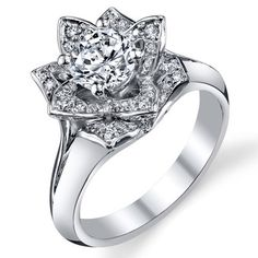 Atlanta Wedding Rings 97 Cute Lotus wedding ring