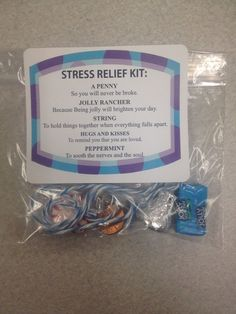 Stress relief kits!