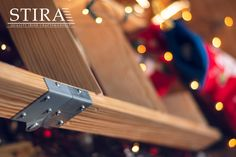 Getting Christmas decorations out of the attic is easy on a Stira. Folding Attic Stairs, Attic Staircase, Ireland Uk, Christmas Decorations, The Originals, Easy, Design, Christmas Decor