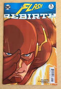 FLASH REBIRTH #1 / GODSPEED / DC COMICS 2016 / NM / SOLD!!!