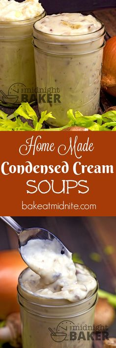 You will never use condensed cream soup out of the can again once you try these easy and delicious homemade versions. Soup Appetizers Soup Appetizers dinners carb Soup Appetizers Appetizers with french onion Garden Vegetable Soup, Soup Appetizers, Low Sodium Recipes, Canning Recipes, Jar Recipes, Easter Recipes, Family Recipes, Chili Recipes, Copycat Recipes