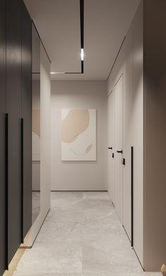 Home Room Design, Dream Home Design, Bathroom Interior Design, Modern Interior Design, Interior Architecture, House Design, Modern Apartment Design, Apartment Interior, Contemporary Apartment