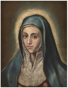 El Greco, The Virgin Mary, 1587-1600 | Prado
