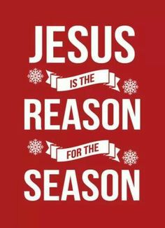 CHRISTmas ♥♥ Jesus is the reason for the season #IloveJesus
