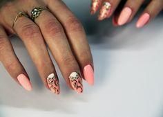 princess nails, semilac 130, 001 #semilac #seminails #longnails #artnails
