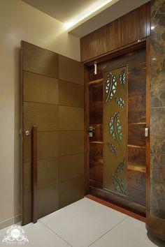 Modern Entrance Door, Main Entrance Door Design, Modern Exterior Doors, Home Entrance Decor, Door Gate Design, Room Door Design, Door Design Interior, Foyer Design, House Main Door Design