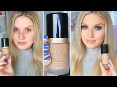 First Impression Review ♡ Too Faced Born This Way Foundation - YouTube