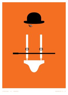 A Clockwork Orange. Horror film posters from Creative Spark's Little Print Shop of Horrors