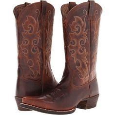 Ariat Mens Cyclone Dualpro Western Boots | Western boots ...