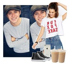"""""""Day off with Niall"""" by sychie ❤ liked on Polyvore featuring ASOS and Converse"""