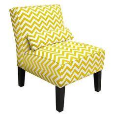 Brayden Studio Cloverdale Upholstered Slipper Chair Color: