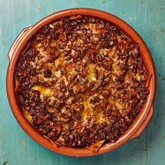 Yotam Ottolenghi's spicy pork and porcini lasagne, (with butternut squash 'lasagne')