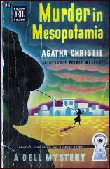 MURDER IN MESOPOTAMIA by agatha Christie (poirot) One of my favorite Poirot mystery