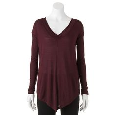 Rock & Republic Diagonal-Hem Top - Women's