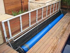 Pool Cover hiden under the deck