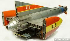 Scratchbuilding Gerry Andersons Fireball XL5