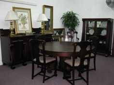 American Empire Dining Set