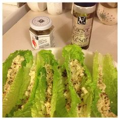 I'm over Caesar salad but using endive as the vehicle for something a bit more daring would be fun! Yummy Eats, Yummy Food, Lettuce Wedge, Epicure Recipes, Low Sodium Recipes, Gourmet Cooking, Caesar Salad, Soul Food, Easy Meals