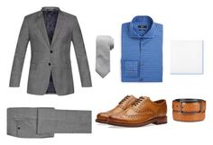 """Smart casual #2"" by alex-remus ❤ liked on Polyvore featuring Paul Smith, BOSS Hugo Boss, Banana Republic, Grenson, Tommy Hilfiger, Alfani, men's fashion and menswear"