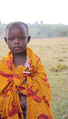 Young village girl. Love the colors. #rwanda