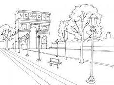 Resultado de imagen para dibujos de paris para imprimir
