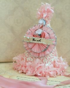 EAT CAKEMarie Antoinette Party Hat by Joosycardco on Etsy