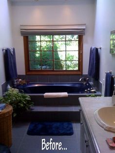 Before & After: Contemporary Bathroom Remodel