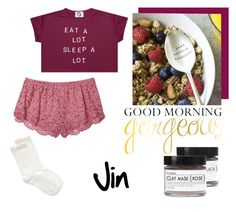 14 by alin-dee on Polyvore featuring мода, Victoria's Secret, Hue and Fig+Yarrow