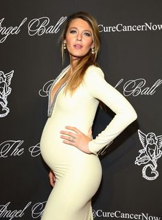 Blake Lively Pregnant at Angel Ball 2014 | POPSUGAR Celebrity