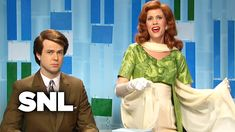 Host Lyle Round (Bill Hader) welcomes his celebrity guests, socialite Titsie Bismarck Tumlinson (Gwyneth Paltrow) and Mindy Gracin (Kristen Wiig), who aren't. Snl Saturday Night Live, Bill Hader, Video Library, Gwyneth Paltrow, Uv Resin, Resin Art, Live For Yourself, Resin Jewelry, Words