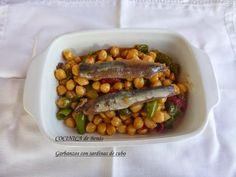 COCINICA de Benas: Garbanzos con sardinas de cubo