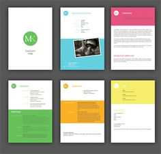 Color band business cards