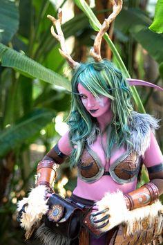 Genderbent Malfurion Stormrage cosplay