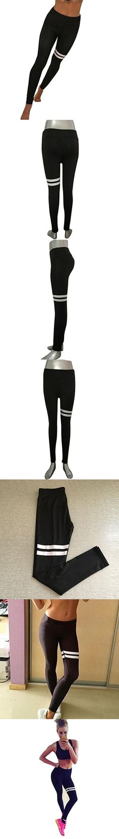Athletic Trouser TOOPOOT Tights Fitness Yoga Pants Leggings For Womens Ladies (S)