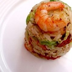 King Prawn Pancetta Fried Rice