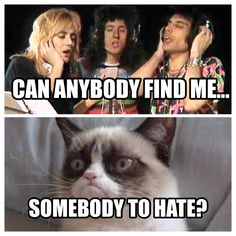 #lyrics #queen #grumpycat