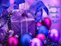 Younique Christmas Present http://www.katseyesandfabulashes.com