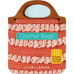 Crochet bag patterns by Candi Jensen